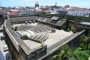 Old Fort of Stone Town in Zanzibar