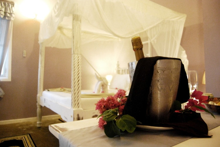 Premium Rooms located on the first floor with ocean views in Zanzibar