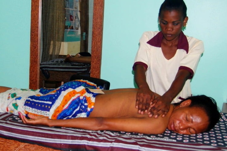 Massage, Aesthetics and Treatments at Bwejuu in Zanzibar